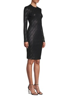 Black Halo Desoto Sheath Dress