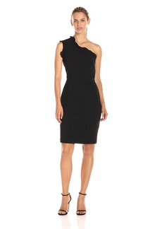 Black Halo Halo Women's Pravella One Shoulder Dress