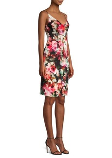 Black Halo Jevette Floral Sheath Dress