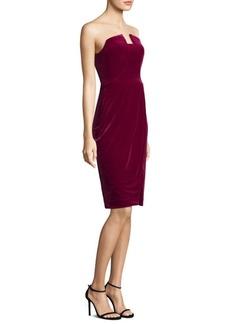 Black Halo Jolie Strapless Sheath Dress