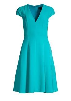 Black Halo Kayley Fit-&-Flare Dress