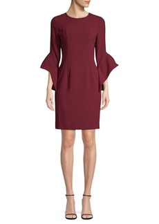 Black Halo Lorie Bell Sleeve Dress