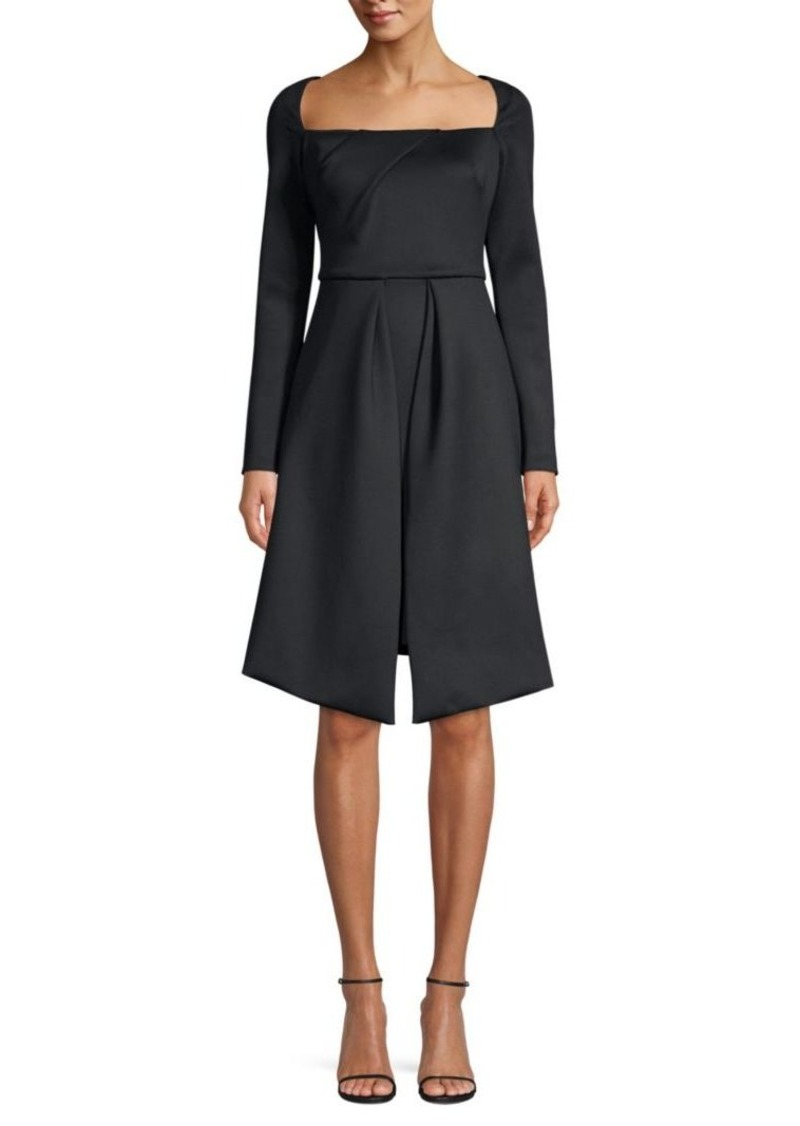 Black Halo Lovelei Fit-and-flare Cocktail Dress