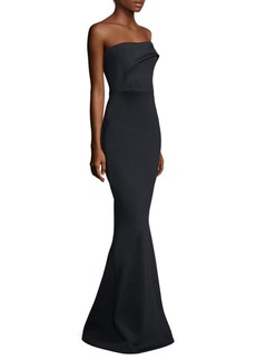Black Halo Off-The-Shoulder Gown
