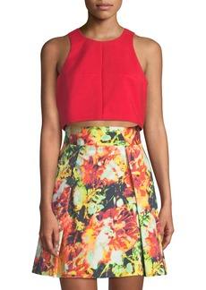 Sanibel Two-Piece Printed-Skirt Set
