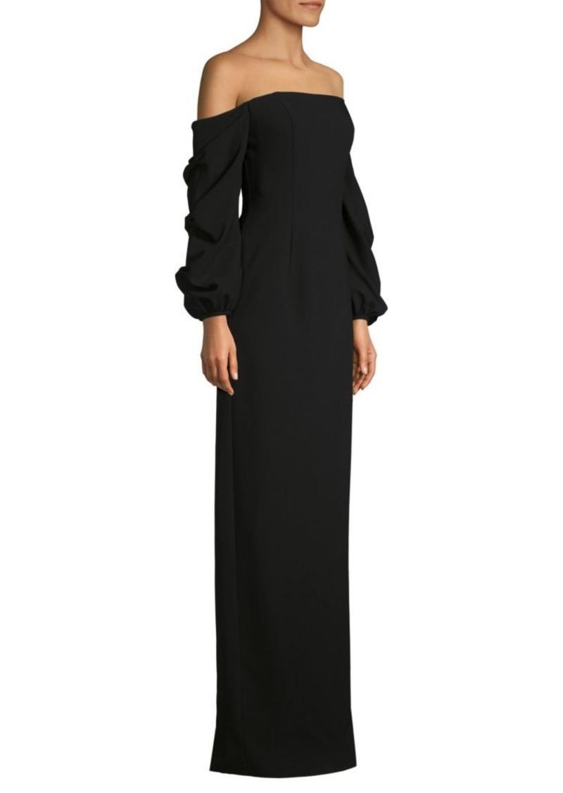 Black Halo Taraji Column Gown