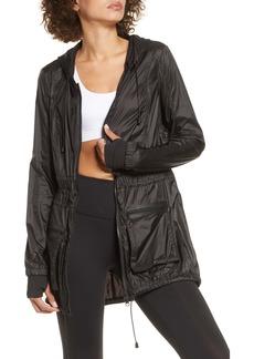 Blanc Noir Airborne Hooded Jacket