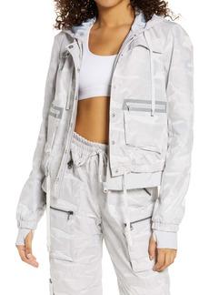 Blanc Noir Skyfall Hooded Aviator Jacket