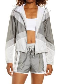 Blanc Noir Tulum Hooded Windbreaker Jacket