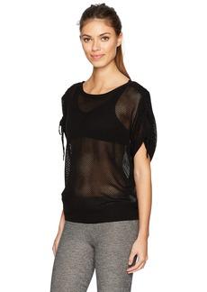 Blanc Noir Women's Mesh sea Breeze Sweater  M