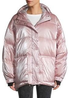 Blanc Noir Cortina Oversized Down Puff Jacket