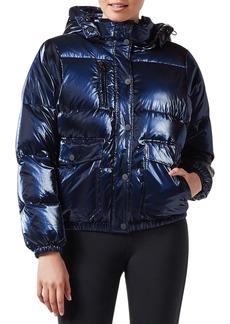 Blanc Noir Mont Blanc Hooded Puffer Jacket