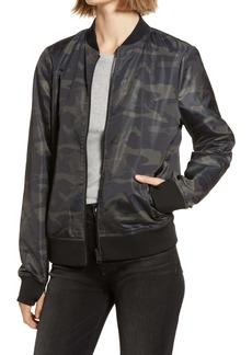 Women's Blanc Noir Reversible Bomber Jacket