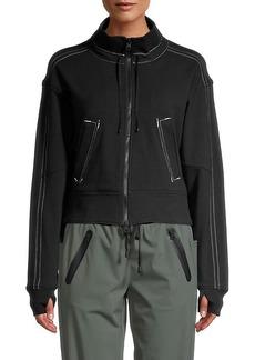 Blanc Noir Yolo Topstitched Jacket