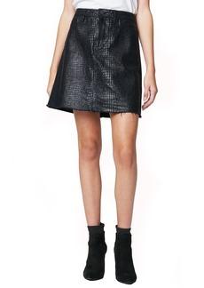 Blank A-Line Mini Skirt