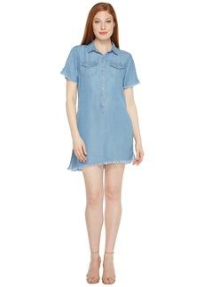 Blank Asymmetrical Dress in Flintstones