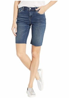 Blank Bermuda Denim Shorts in Bayou Blues