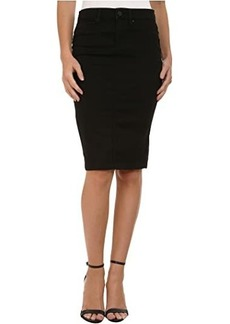 Blank Black Pencil Skirt in Nightchild