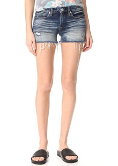 Blank Denim Amped Out Cutoff Shorts