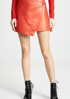 db6f48261c Blank Vegan Leather Pull-On Pencil Skirt in Schooled-Black Now $60.99