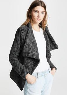 Blank Denim Boucle Jacket