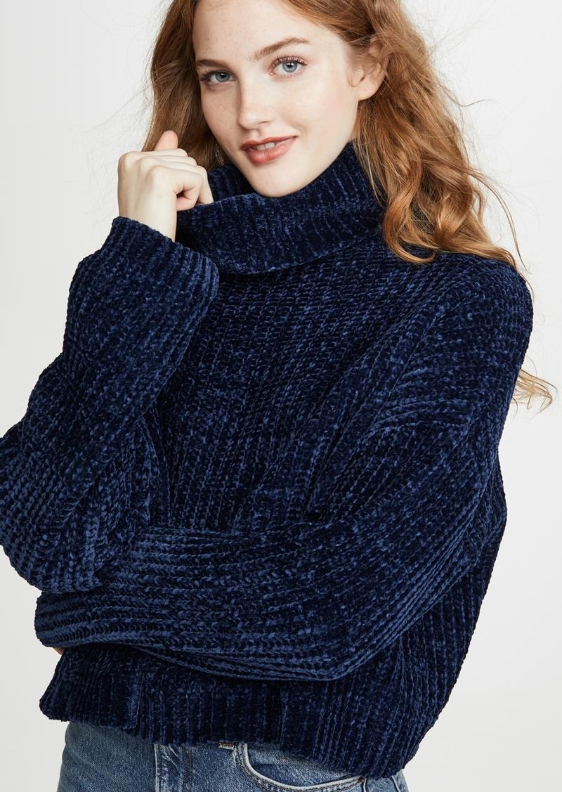 Blank Denim Chenille Sweater