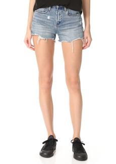 Blank Denim High Rise Ms. Throwback Shorts