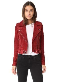 Blank Denim Moto Jacket