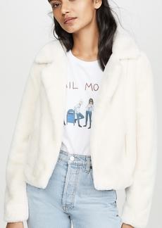 Blank Denim Pop Coat