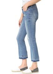 Blank Denim Released Hem Cropped Jeans