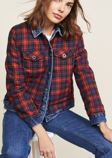 Blank Denim Reversible Flannel Denim Jacket