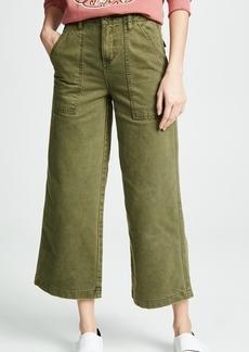 Blank Denim Wide Leg Utility Pants