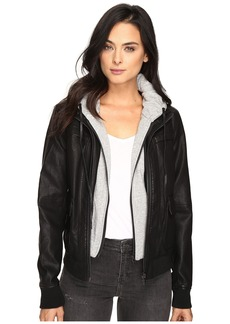 Blank NYC Adulting Jacket in Black