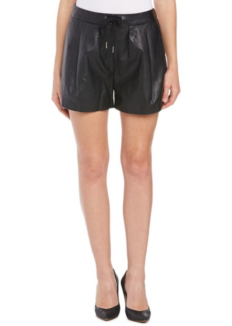 Blank NYC Blank NYC Pleated Faux Leather S...