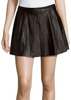 BLANKNYC Box Pleated Skirt