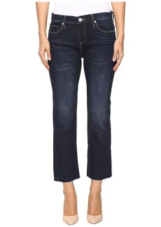 Blank NYC Clean Denim Crop Kick Flare in Riding Flirty