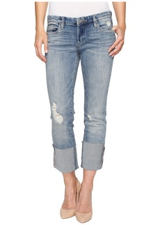 Blank NYC Cuffed Denim Jeans in Lost & Found