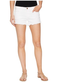 Blank Cut Off Shorts in Great White