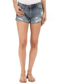 Blank NYC Denim Cuffed Distressed Shorts