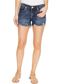 Blank NYC Denim Cut Off Shorts in Bits and Pieces