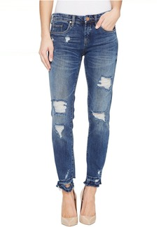 Blank Denim Distressed Skinny in Dress Down Party