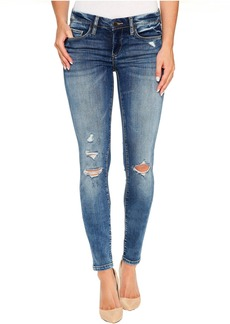 Blank Denim Distressed Skinny with Studs On Back in Coffee Nap