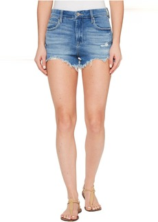 Blank NYC Denim High-Rise Shorts in Puppy Love
