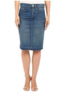 Blank NYC Denim Pencil Skirt