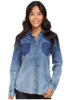 Blank NYC Denim Shirt in Float On