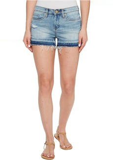 Blank NYC Denim Shorts with Released Hem in Ride It Out