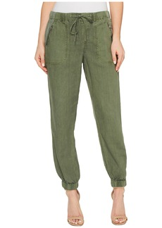 Blank NYC Drawstring Pants in Misty Moss
