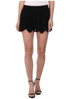 Blank NYC Eyelet Shorts in Victoria Secret