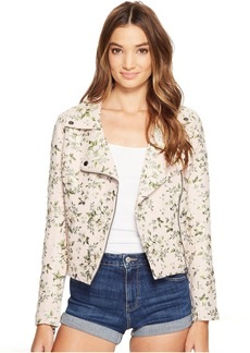 Blank NYC Floral Detailed Jacket in Stem To Stem