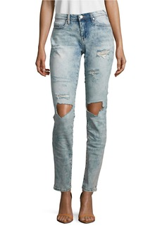 BLANK NYC Happy Tears Distressed Skinny Jeans